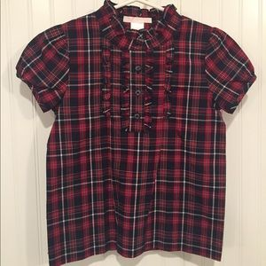New withtags Jane and Jack holiday blouse